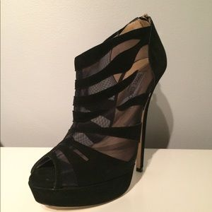 Jimmy Choo Open Toe Booties